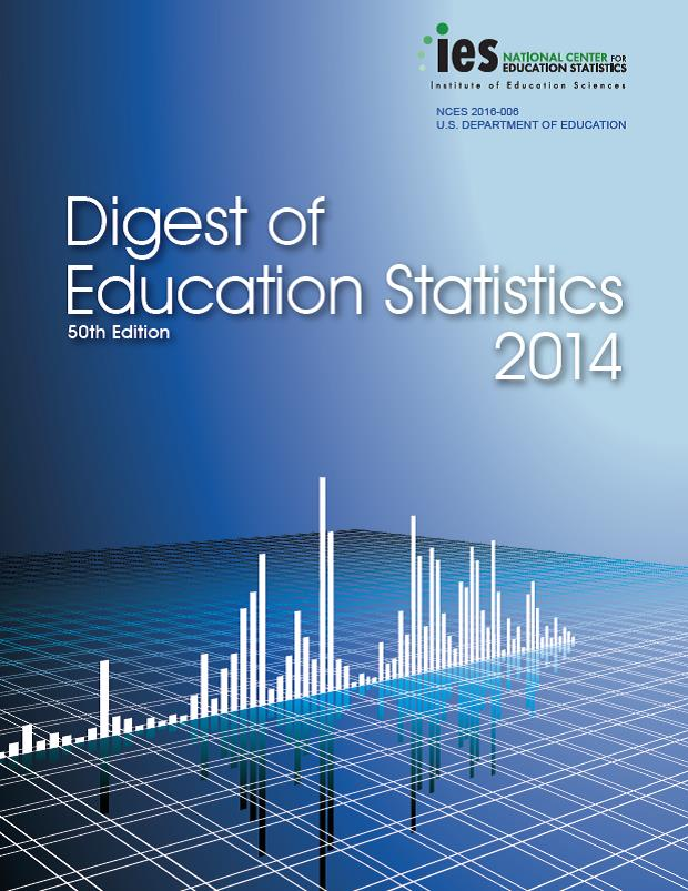 Digest Of Education Statistics 2014 Is The 50th In A Series Of Reports That Has Been Issued Annually Since 1962 Except For Combined Editions For The