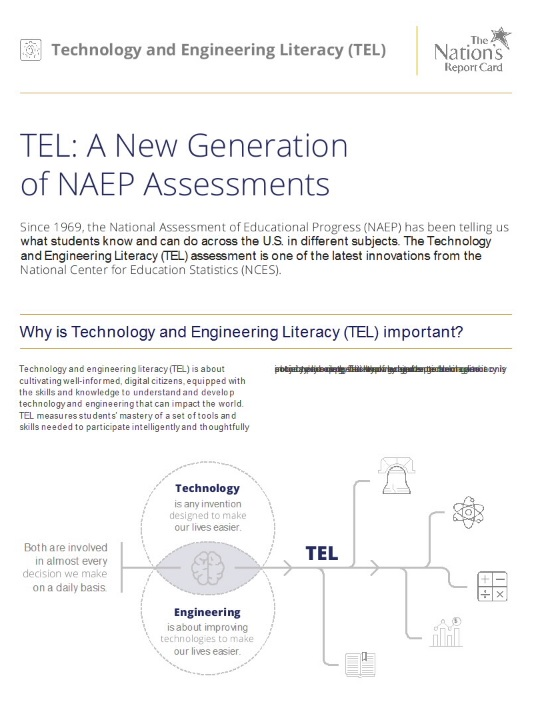 2014 Technology and Engineering Literacy assessment