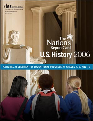 Cover image of the Nation's Report Card: U.S. History 2006 report