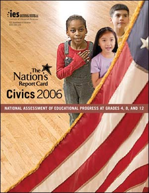 Cover image of The Nation's Report Card: Civics 2006 report