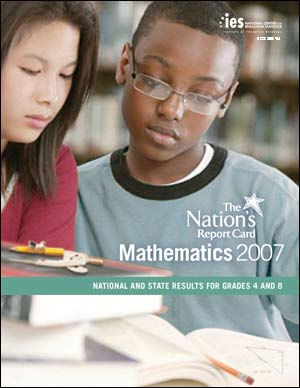 NAEP 2007 Mathematics Report Card cover