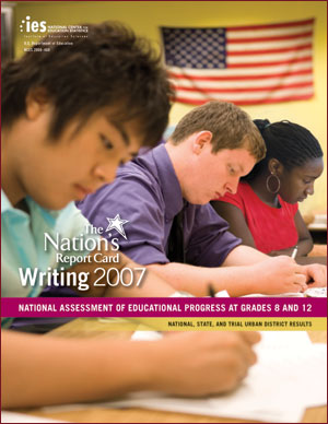 Image of the cover of The Nation's Report Card: Writing 2007 report