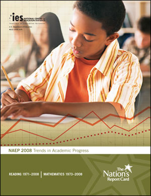 Cover image of the 2009 Trends in Academic Progress report card