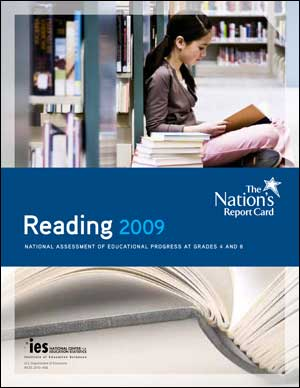 Cover image of The Nation's Report Card: Reading 2009 report