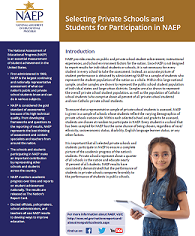 NAEP Sampling Fact Sheet for Private Schools