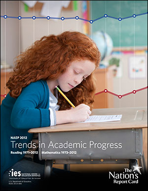 Cover image of The Nation's Report Card: Long-Term Trend 2012 report.