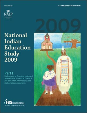Image of the cover of the 2009 National Indian Education Study: Part I