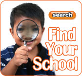 Find a school, library, or even a college, with our easy to use search tools.